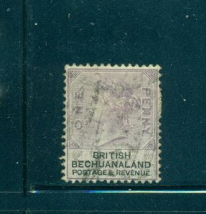 Br. Bechuanaland - Sc# 11. 1887 1p Victoria. Used. $4.75.
