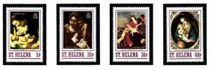 St Helena 497-500 MNH 1988 Christmas