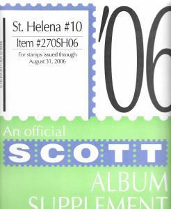 Scott St. Helena #10 Supplement 2006