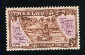 Tokelau #1   Mint  Nh VF 1948 PD