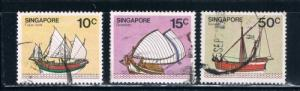 Singapore  338-39;343 Used Boats (S0276)