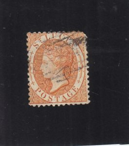 St. Lucia: Sc #10, Used (35826)