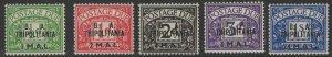 B.O.I.C.-TRIPOLITANIA SGTD6/10 1950 B.A.TRIPOLITANIA MNH