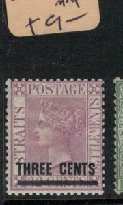 Malaya, Straits Settlements SG 83 MOG (2eww)
