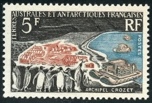 FSAT Scott 23 (SG35) MVFNHOG - 1963 Crozet Archipelago - SCV $60.00