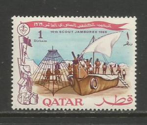 Qatar   #184  MNH  (1969)  c.v. $0.35