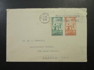 New Zealand SG# 626 & 627 on Commercial Cover - Z4191