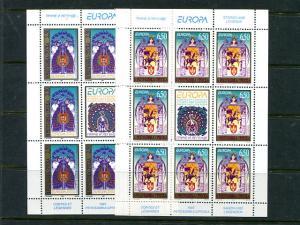 Bosnia   1997 Europa Cept mini sheets VF NH