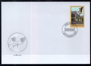 Liechtenstein 1268 Birds U/A FDC