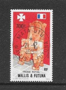 WALLIS & FUTUNA #C162  ROYAL THRONE  CANCELLED