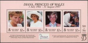 Solomon Islands #863 Princess Diana MNH