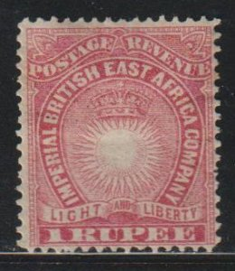British East Africa SC 25  Mint  Hinged
