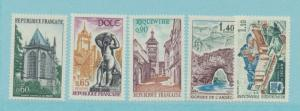 France Scott #1310 To 1314, Mint Never Hinged MNH, Views Of France Issue From...