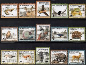 Botswana - 2018 Fauna of the Kgalagadi Set MNH**
