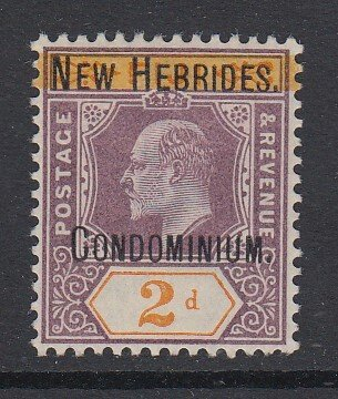 NEW HEBRIDES, Scott 2, MHR