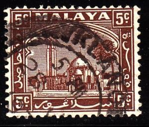 Malaya - Selangor 48 - used