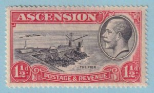 ASCENSION ISLAND 25  MINT NEVER HINGED OG ** NO FAULTS EXTRA FINE!
