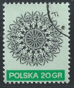 Poland #1822 20g Paper Cut Out