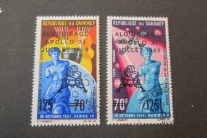 Dahomey 1969 Sc C103-4 CTO set FU