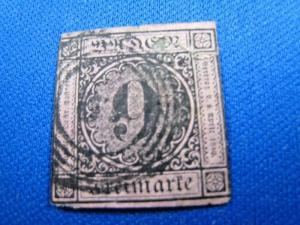 GERMANY - BADEN - SCOTT # 4a - Used       (kb)