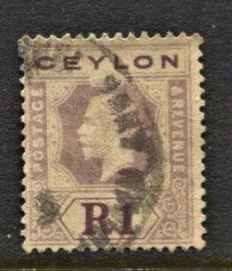 STAMP STATION PERTH Ceylon #210 KGV Definitive Used- CV$5.00