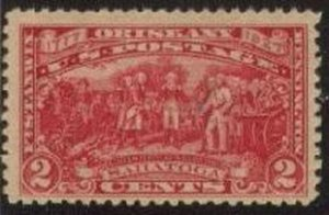 US Stamp #644 Mint - Burgoyne Campaign Issue Single