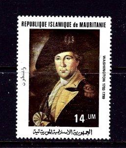 Mauritania 487 MNH 1981 George Washington