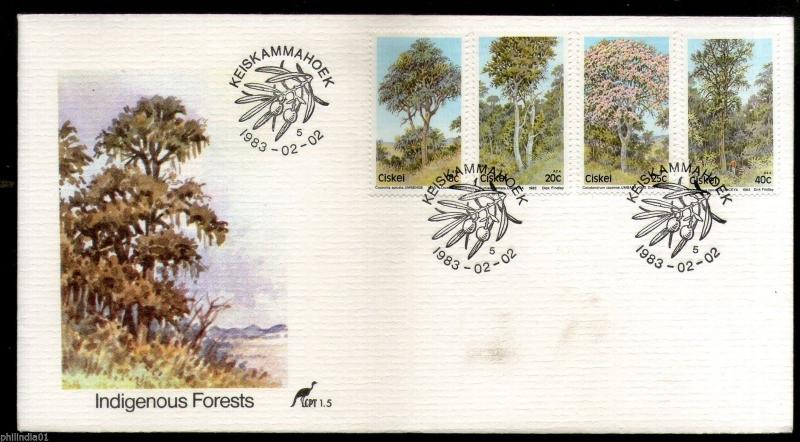 Ciskei 1983 Forest Trees Plant Flora Environment Conservation Sc 46-9 FDC #16398