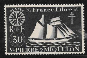 Saint Pierre and Miquelon Mint Never Hinged [4127]