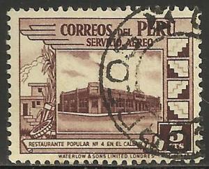Peru Air Mail 1938 Scott# C49 Used