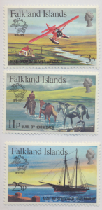 Falkland Islands Stamps Scott #295 To 297, Mint Never Hinged - Free U.S. Ship...
