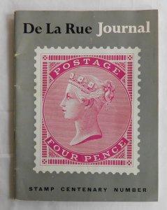 Thomas De La Rue Journal Security Printers Stamp Centenary Number (1955 Booklet)