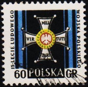 Poland. 1958 60g S.G.1070 Fine Used