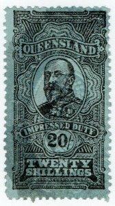 (I.B) Australia - Queensland Revenue : Impressed Duty 20/-