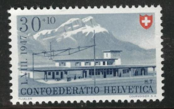 Switzerland Scott B165 MNH** 1947 semipostal