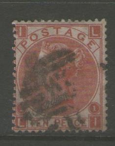 GB 1867 Queen Victoria SG 112  FU