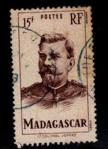 Madagascar Malagasy Scott 283 Used from 1946 set
