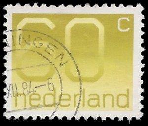 Netherlands #544 1981 Used