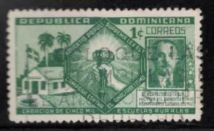 Dominican Republic Scott 378 used stamp