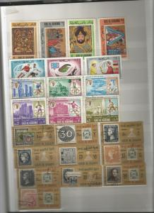 Worldwide stamp collection