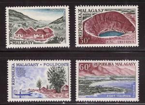 Madagascar Scott 328-331 MNH**  stamps