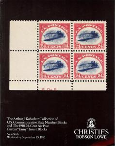 The Arthur J. Kobacker Collection of U.S. Commemorative P...