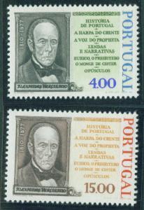PORTUGAL Scott 1346-7 MNH** Herculano set CV $1.85