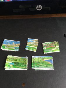 Canada #1547-1551 Used 50 Complete Sets F-VF Average 1995 Fortress of Louisbourg