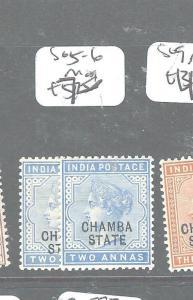 INDIA CHAMBA (P0604B) QV 2A  SG5-6    MOG