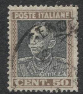 Italy - Scott 192 - Definitive Issue -1927 - Used - Single 50c Stamp