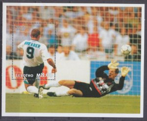 1997 Lesotho 1218/B122 1998 FIFA World Cup in France