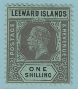 Leeward Islands 54 Mint Hinged OG * - No Faults Very Fine!