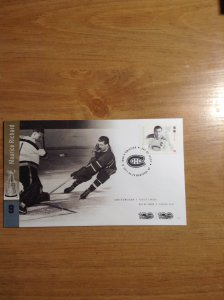 Canada  #  3027  First day cover Maurice Richard