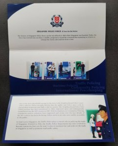 Singapore Police Force 2003 Ship Motorcycle Uniform Maritime (p.pack MNH *c scan